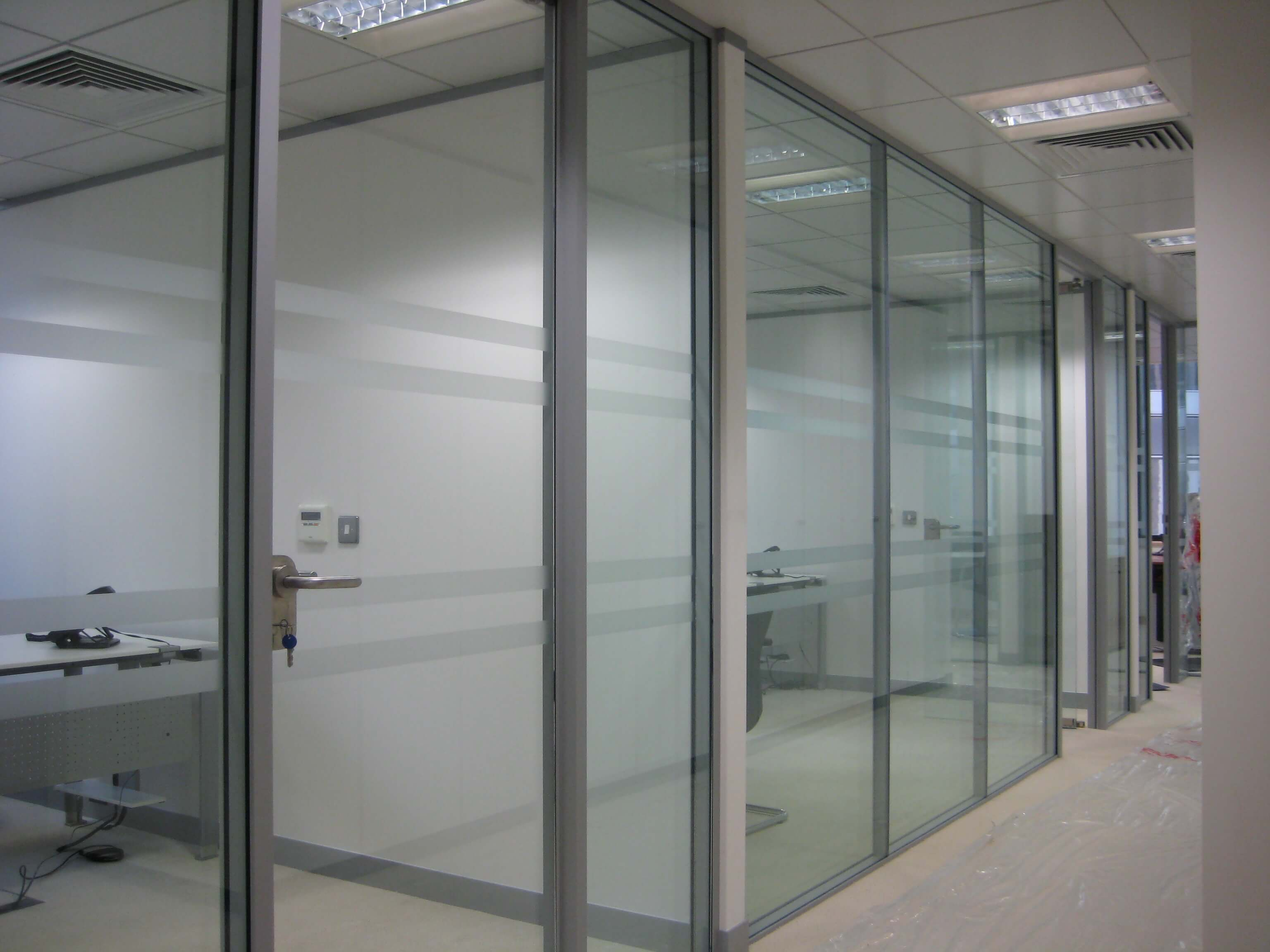Office Partition Systems for local businesses I Sandhurst Interiors