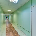 Acoustic Laminate Glass Corridor