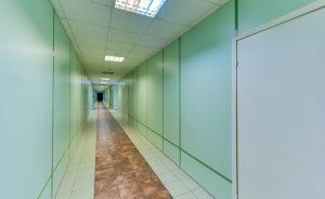 Acoustic Laminate Glass Corridor